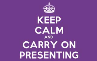Presentation anxiety