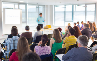 How to face up to presentation anxiety